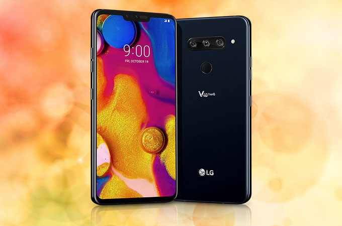 LG V40 ThinQ Photos