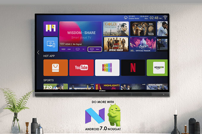 Shinco 65 inch 4K Smart LED TV Photos