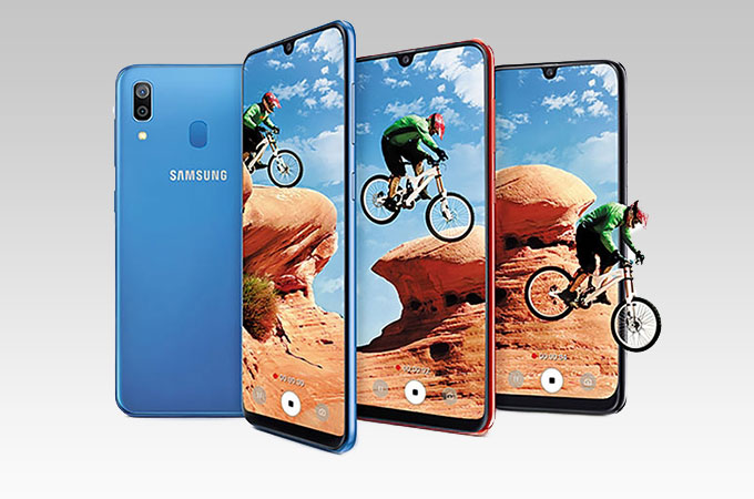 Samsung Galaxy A30 Images Hd Photo Gallery Of Samsung Galaxy A30