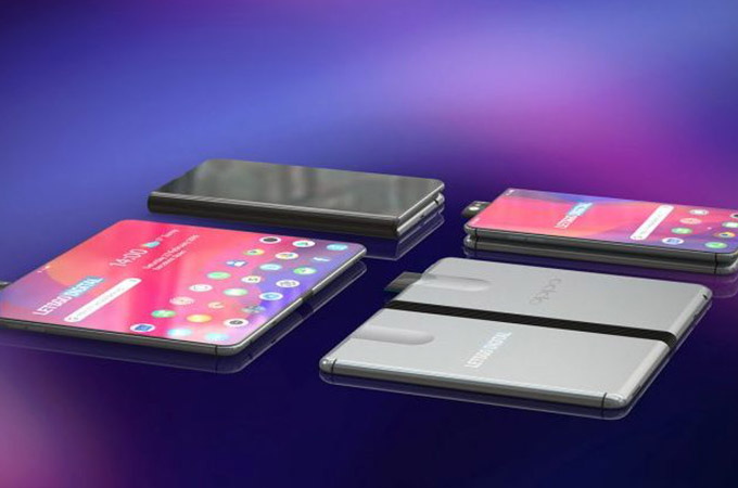 Oppo Folding Phone Concept Design Photos