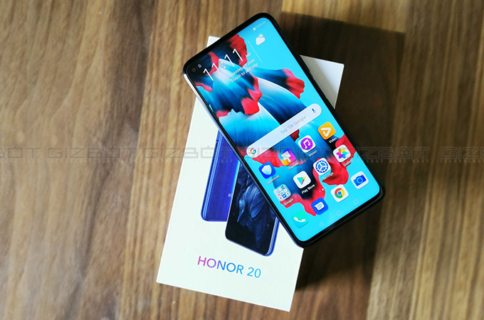 Honor 20 First Impressions Photos