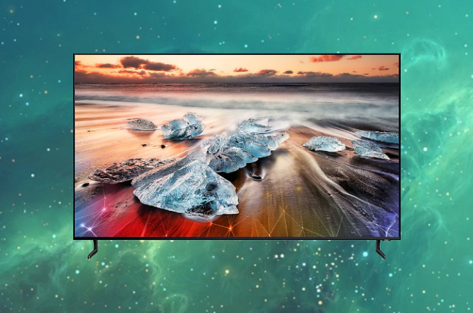 Samsung Q900R 8K Smart QLED Tv Photos