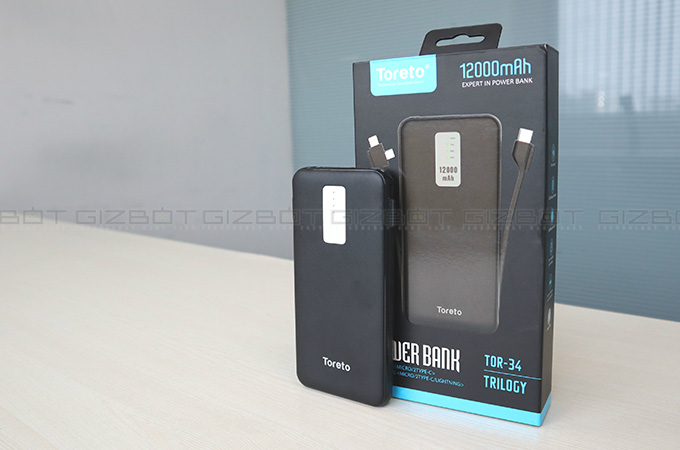 Toreto TRILOGY 12000 mAh Power Bank Photos