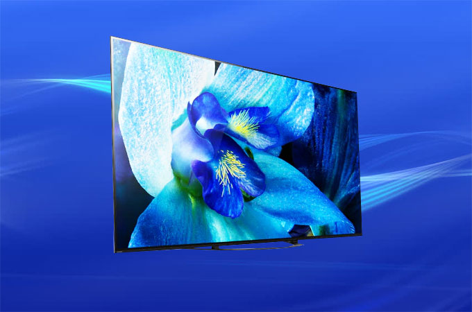Sony Bravia A8G OLED Android TV Photos