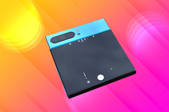 Sony Xperia XZ4 Flex Concept Design Photos