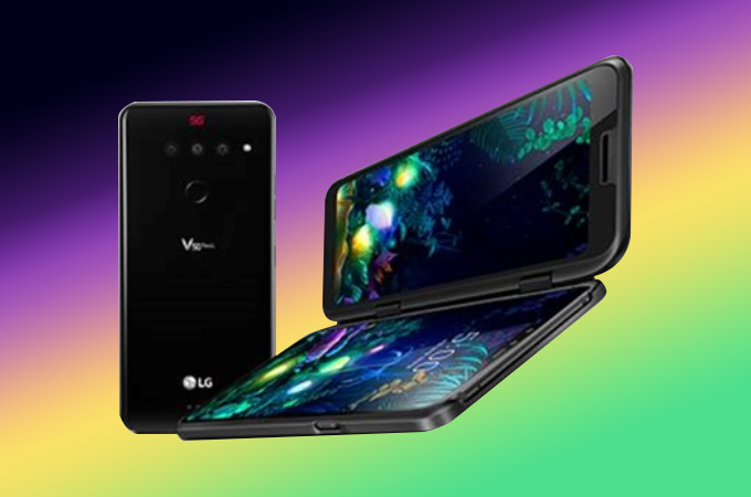 LG V50 ThinQ 5G Photos