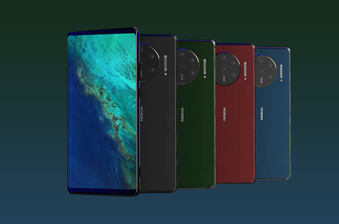 Nokia 10 Pureview Concept Photos