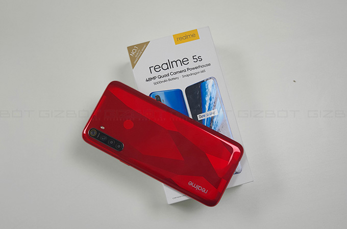 Realme 5S Review Photos