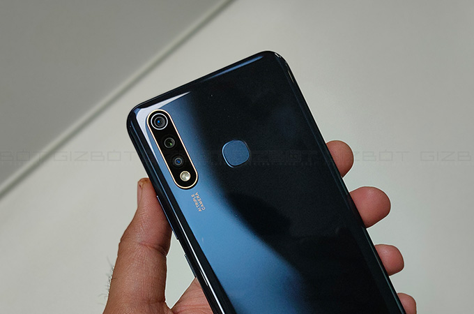Vivo U20 Review Photos