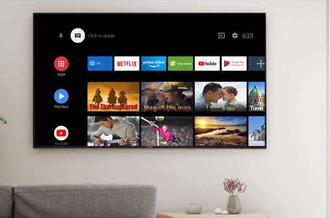 Sony Bravia X80H 4K Ultra HD Smart Android TV Photos