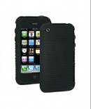 Amzer Wave Silicone Skin Jelly Case for iPhone 3G/3GS (Black)