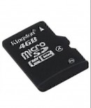 Kingston Micro SD Card 4 GB (Black)