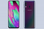 Samsung Galaxy A40 gets listed online ahead of April 10 launch