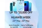 Amazon Huawei Week: Upto 20000 off, No EMI Cost, Exchange offer on smartphones