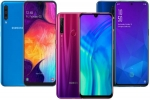 Last week Most trending smartphones: Galaxy A50, OnePlus 7 Pro, Honor 20 Pro, Zenfone 6 and more