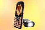 Feature phone with three SIM support, reverse charging launched for 1,799