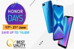 Amazon Honor Days Sale June 17 to 21 – Avail Discounts On Honor 8C, Honor 8X, Honor 9N And More