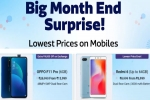 Flipkart Surprise Big Month End Sale Offers – Price Drop On Popular Smartphones