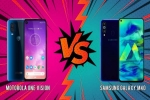 Motorola One Vision Vs Samsung Galaxy M40 Comparision: Quest For The Affordable Punch Hole Display