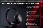 Xiaomi Mi Super Bass Wireless Headphones Launched In India For Rs. 1,799 With 20 Hours Battery Life