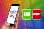 How To Add And Remove Channel Packs Using Tata Sky Mobile App