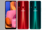 Samsung Galaxy A20s Announced With Triple Rear Cameras