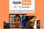 Amazon Apple Days Sale: Attractive Discounts On iPhones, Apple Watch, iPad, MacBook And More