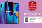 Amazon Huawei Hungama Sale: Exciting Offers On Mid-Range Huawei Smartphones