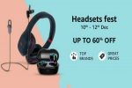 Amazon Headsets Fest Offers You Can Get On Headphones, Earphones, Truly Wireless Earbuds And More