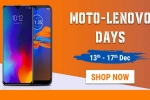Flipkart Moto - Lenovo Days: Offers on Moto E6s, Motorola One Action, Lenovo K10 Note and More