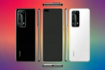 Huawei P40 Pro Leaked Render Shows Penta Camera Setup, Punch Hole Display
