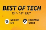Amazon Best Of Tech 13th To 14th July: Discounts, EMI & Exchange Offers On Gadgets