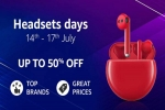 Amazon Headsets Days: Up to 50% Off On Headphones And Headsets