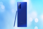 Samsung Galaxy Note 20 Mystic Blue Color Variant Launched In India