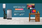 Amazon Wow Salary Days: Offers On Electronics Days Sale