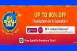 Flipkart Big Diwali Sale: Upto 80% Off On Headphones & Speakers