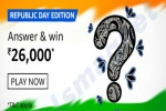 Amazon Republic Day Edition Quiz Answers: Win Rs. 26,000 Amazon Pay Balance