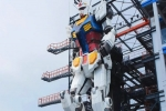 Japan Creates 60-Foot-Tall Working Robot Gundam That Can Actually Walk