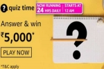 Amazon Quiz Answers For April 14, 2021: Win Rs. 5,000 Amazon Pay Balance