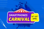 Flipkart Smartphone Carnival April: Offer On Best Budget Smartphones Under Rs. 10,000