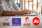 BSNL, Excitel, JioFiber, And Airtel Xstream Fibre Work From Home Broadband Plans