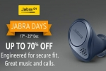 Jabra Days Sale May on Amazon: Discounts On Jabra Elite 75t, Jabra Talk 30 And More