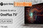 Want To Win OnePlus TV? Check Out Amazon Quiz Answers For May 13, 2021