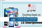 Flipkart LG Days Sale: Discount Offer On LG W41 Pro, LG W31 Plus, LG Wing, LG G8X And More