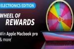 Amazon Electronics Edition Wheel Of Rewards Quiz: Win Apple MacBook Pro