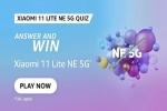 Amazon Xiaomi 11 Lite NE 5G Quiz Answers: Win Smartphone For Free