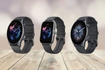 Amazfit Launches GTR 3, GTR 3 Pro, GTS 3 Smartwatches In India; Price & Features