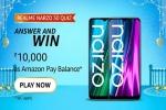 Amazon Realme Narzo 50 Series Quiz Answers: Win Rs. 10,000 Amazon Pay Balance