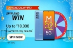 Amazon Samsung Galaxy M52 5G Spin And Win Quiz Answers: Win Up To Rs. 10,000