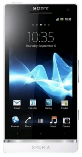 New Sony Xperia S